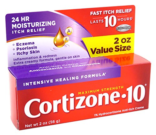Cortizone-10 Intensive-Healing Formula 2 Ounce (Boxed) (59ml) (3 Pack)