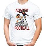 Against modern Football Kickers T-Shirt | Fussball | Ultras (L)