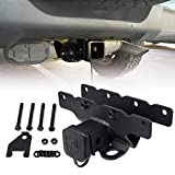 Xprite 2 Inch Towing Trailer Hitch Receiver with Hitch Cover for 2018-2020 Jeep Wrangler JL/JLU 2 Door & 4 Door