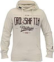 Crosshatch Mens Hooded Top Fleece Lined Sweatshirt LATTIES-STIPPEL
