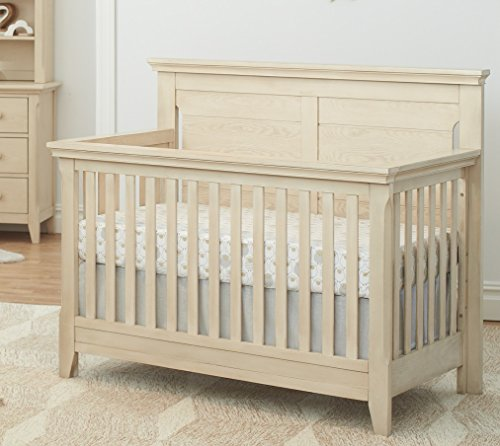 Baby Cache Overland 4 in 1 Convertible Crib in an Elegant Sandstone Finish