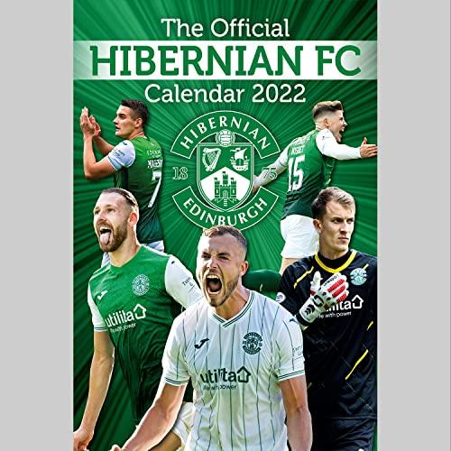 Official Hibs 2022 Calendar - Month To View A3 Wall Calendar