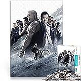 xxx: The Return of Xander Cage Movie Poster Bloques de construcción para adultos rompecabezas Mini 1000 piezas para regalo de tendencia Evita la depresión Rompecabezas de papel