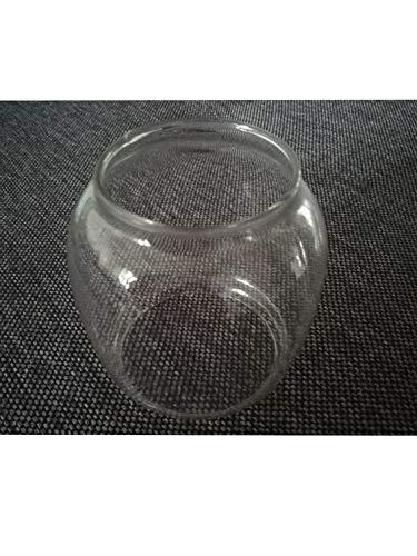 Campfrei Ersatzglas klar Petroleumlampe Sturmlampe Glas 8,3cm hoch Ersatzteil Öllampe