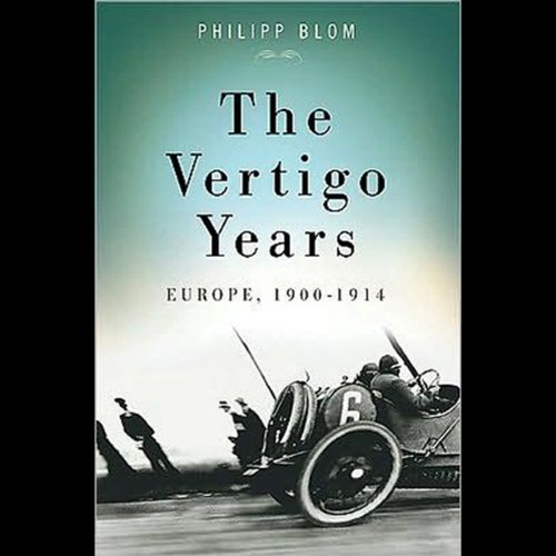 The Vertigo Years audiobook cover art