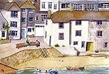 St. Ives, 'Lazy Morning'Kunstdruck von Cornwall ein