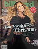 Billboard Magazine (December 21, 2019) The Year In Music 2019 Mariah Carey Cover