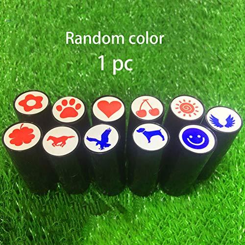 LNIMIKIY Golfball-Stempel, Preistruck, Geschenk, Club, süßes Symbol, Golfer, Siegelmarker, langlebig, Souvenir, schnell trocknend, Zubehör Werkzeug