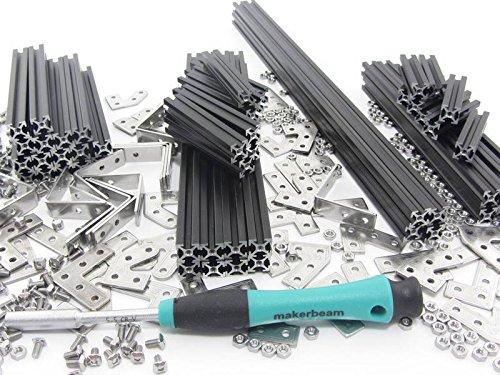 Premium Start-Kit MakerBeam schwarz