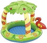PandaG Baby-Klapp Pool Schwimmt Aufblasbare Kinderbecken, Kinderbecken, Kinderplanschbecken Terrasse Baby-Pool 99 * 91 * 71cm
