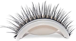 Portonss Glue-Free 3D False Eyelash Extensions Self-Adhesive Reusable Nature Long Eyelash