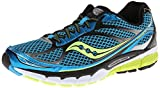 Saucony Men's Ride 7 Running Shoe,Blue/Black/Citron,11 M US
