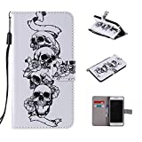Coque Motorola Moto One / P30 Play, Leather Cuir Rabat Wallet Case Housse Cover pour Motorola Moto...