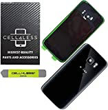 CELL4LESS Compatible Back Glass Cover Back Door...