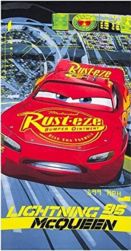 パン屋つかいます絶壁2753 ディズニー カーズ Disney Cars ビーチタオル バスタオル 吸水性抜群 70cm×140cm [並行輸入品]