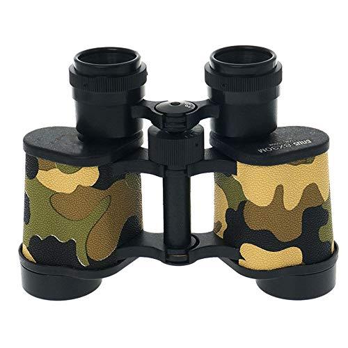 DKEE 8X30 Fernglas Low Light Level Nachtsichtteleskop for Jagd Angeln Camping/Einfache Durchführung BKA4 Schwarz Tarnung Farbe (Farbe : Camouflage)