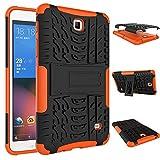 QiuKui Tab Coques pour Samsung Galaxy Tab 4 7.0 T230 T231, boîtier Robuste Tablette Defender TPU +...