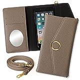 iPhone 11 Pro ケース 手帳型 iPhone11 アイフォン スマホケース ブラウン レター型 ゴールド……