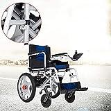 Yuzhonghua Plegado discapacitados en silla de ruedas plegable eléctrico portátil de edad avanzada scooter de ancianos personas con discapacidad cuatro inteligentes automáticas - los ancianos sillas de
