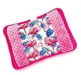 MovilCom® Bolsa de Agua Caliente Eléctrica | Recargable en sólo 15 minutos | Calentamanos | Dolor muscular, espalda, menstrual 600Watt (Mod.16)