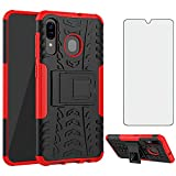 Phone Case for Samsung Galaxy A20/SM-A205F/DS with Tempered
