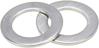 Zyj stores Flat Washers 500pcs M6 304 Stainless Steel Flat Washer Plain Washer Flat Gasket Stainless Flat Washer