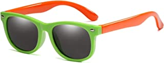 ZHHAO - ZHHAO Niños Polarizadas Gafas de Sol Tonos Flexibles para niñas Muchachos Edad 2-14 UV400 Protección Baby Día de los niños Regalo