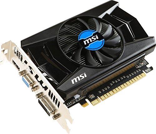 MSI GeForce GTX 750 2 GB - Tarjeta gráfica GeForce GTX 750 2 GB (ATX, HDMI, DL-DVI-D, D-Sub, GDDR5, 128 M x 32 bit)