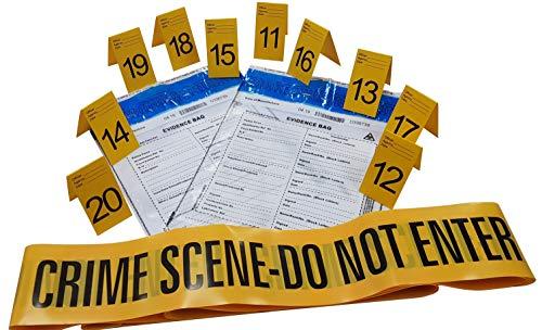 talla /única amarillo WIDMANN Cinta de /«Crime Scene-Do Not Cross/» unisex para adulto VD-WDM51895