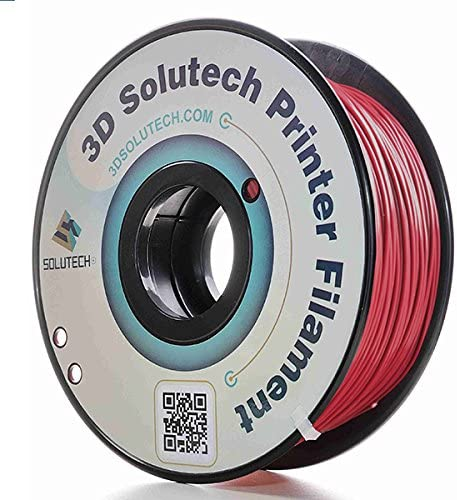 3D Solutech 3DSPLA175MELT Merlot Red 3D Printer PLA Filament 1 75MM Filament Dimensional Accuracy product image
