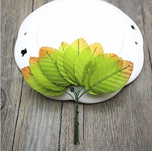 Outflower 10 en 1 Ivy Plante Artificielle Vigne avec Succulente Artificielle Style Rustique Ldeal pour Décorer Votre Salon ou Table
