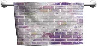 alisoso Customized Bath Towels Wall,Vector Graffiti Brick W 14
