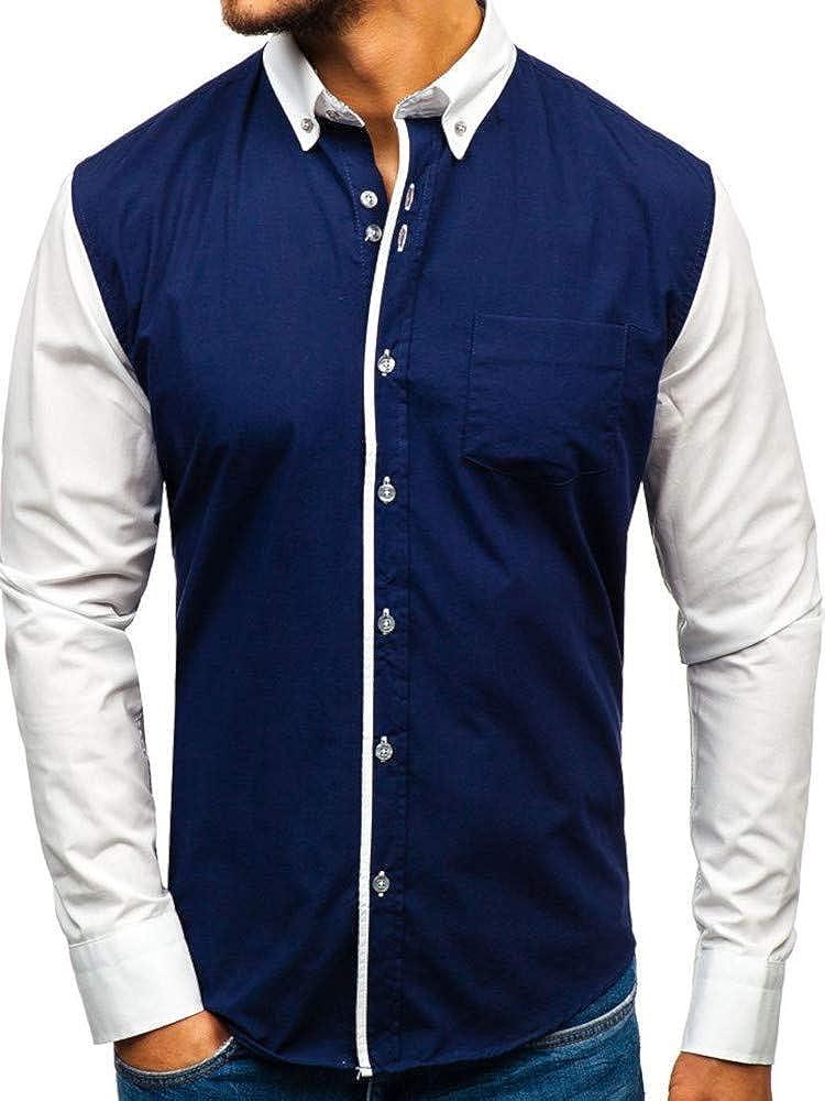 Bolf, camicia manica lunga per uomo,80% cotone, 20% poliestere BOLF6919