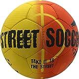 SELECT Street Soccer Ball, Orange/Black, Size 4.5