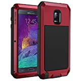 seacosmo Coque Samsung Note 4, Heavy Duty Antichoc Etui [avec écran Protecteur] Full Body Protection 360 Housse Anti-Rayures...
