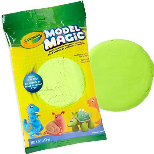 Crayola Model Magic, Neon Green, Modeling Clay Alternative, 4 Ounces (57-6001-0-095)