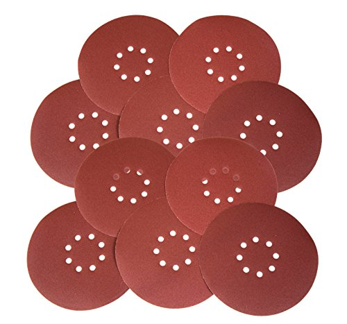 WEN 6369SP240 Drywall Sander 240-Grit Hook & Loop 9' Sandpaper, 10 Pack