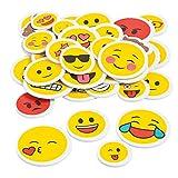 Elfen und Zwerge - XXL Emoji Sticker - Aufkleber Smileys - Deko & Verzierung - Mitgebsel zur...