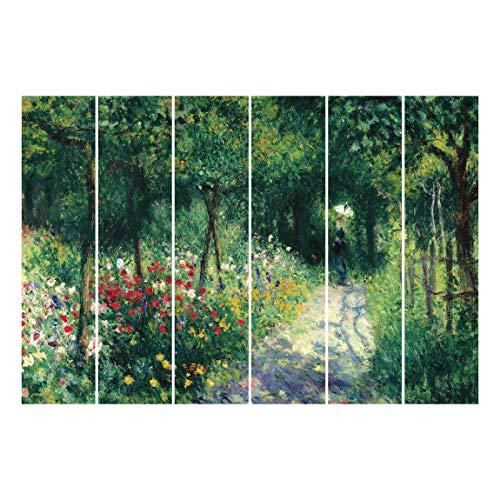 Bilderwelten Schiebegardinen Set - A. Renoir - Frauen im Garten - Ohne Aufhängung 250 x 360cm