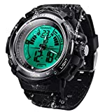 10 ATM Waterproof Scuba Sports Diving Watch for Men Women Kids with Timer