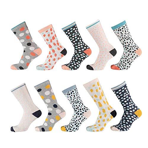 Lieblingsstrumpf24 10er Pack Kinder Socken Jungen Mädchen Baumwolle Öko-Tex Standard 100 (31-34, Girl Mix Socken)