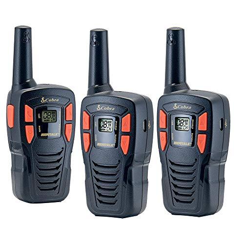 Cobra CXT195 3-Pack 16-Mile GMRS Radio Two-Way Radio