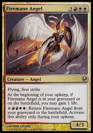 Magic The Gathering - Firemane Angel - Duel Decks: Ajani vs Nicol Bolas by