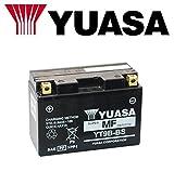 BATTERIA YUASA YT9B-BS PER YAMAHA XP T-Max (SJ031/SJ051/SJ032/SJ034/SJ052) 500 2004-2007 12V 8 Ah CON ACIDO