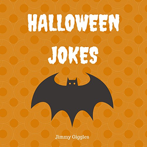 Halloween Jokes: Funny Halloween Jokes for Kids audiobook cover art