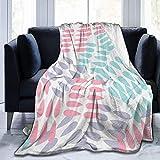 Manta de tiro Patrón de color pastel abstracto Ultra suave Microfleece Blanketow Manta de cama súper suave y acogedora para cama Sofá Sofá Sala de estar Picnic en la playa Otoño Primavera Invierno Uso