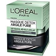 L' oréal Paris Maschera Viso Disintossicante Eclat a l' argilla/al carbone 50ml