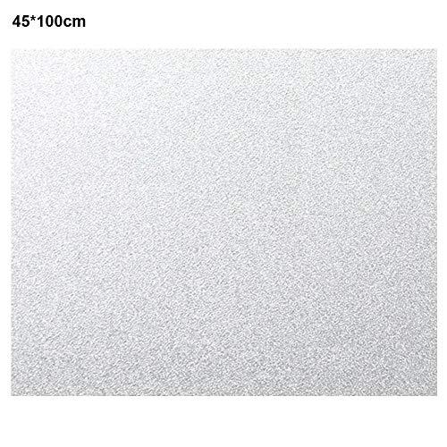 Raamfolie sticker ijspapier ondoorzichtig zelfklevend Frost raamsticker venster badkamer jaloezie 45cmx100cm