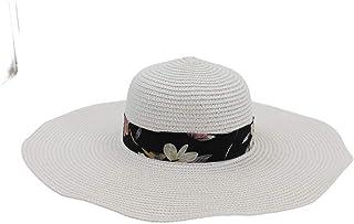 SHENTIANWEI Fashion Women Straw Hat Summer Sun Hat Cute Solid Color Chapeu Feminino Striped Floral Satin Hat Travel Beach Hat