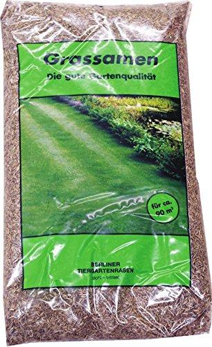 """Grassamen\""""Berliner Tiergarten\"""" 5x 1kg 5kg Rasensamen Rasen Gras Grünfläche"""